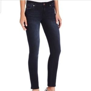 DL 1961 Angel Ankle Skinny Jeans In Dark Wash